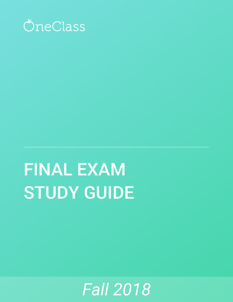 b24e0293ec90e BU231 Study Guide - Comprehensive Final Exam Guide - Tort