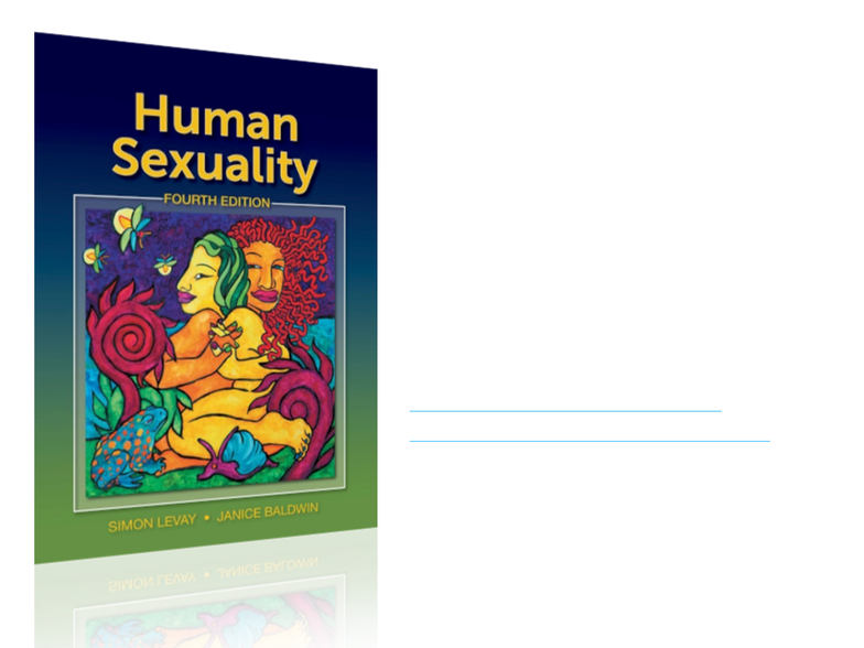 Human sexuality 4th edition levay