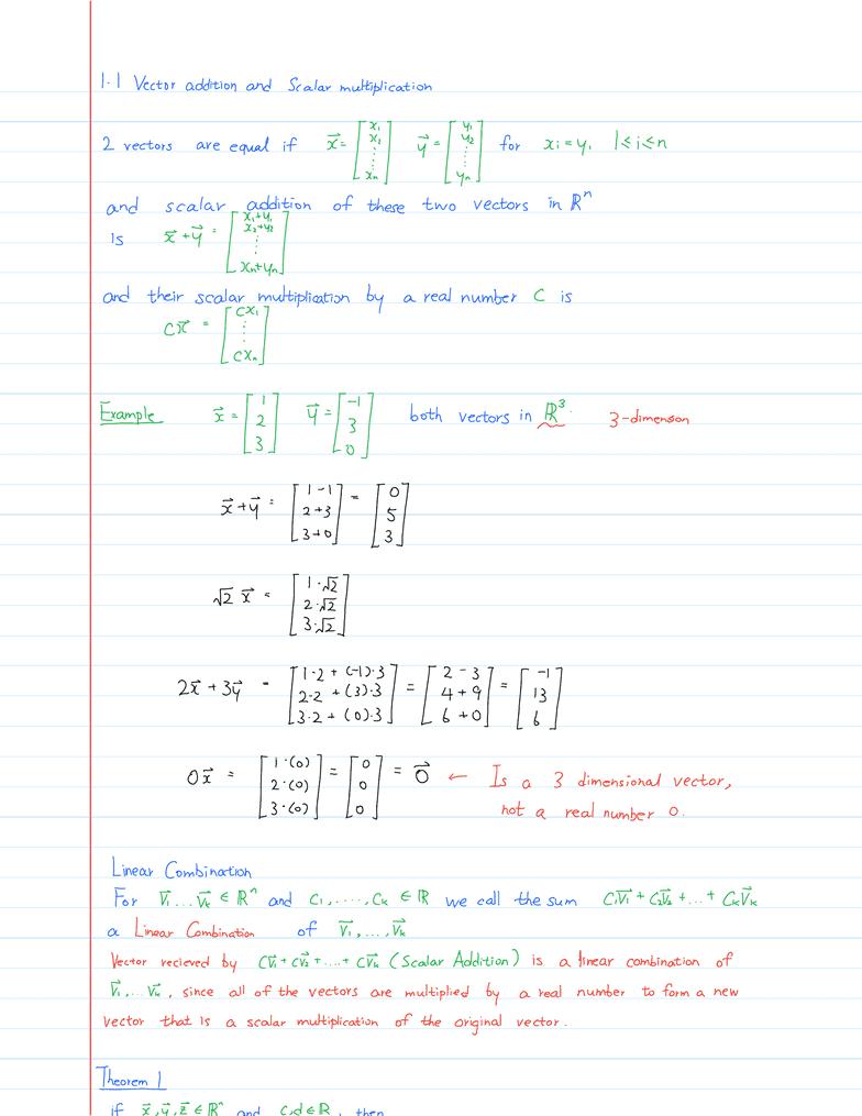 Linear Algebra Course Notes Wolczuk Pdf Download - checkskyjsuhol