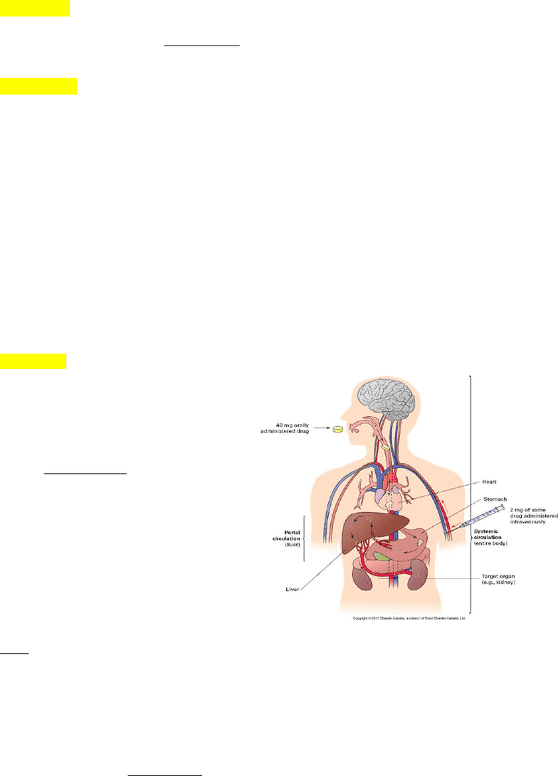 Pat 20ab Study Guide Fall 2015 Midterm Hepatic Portal System