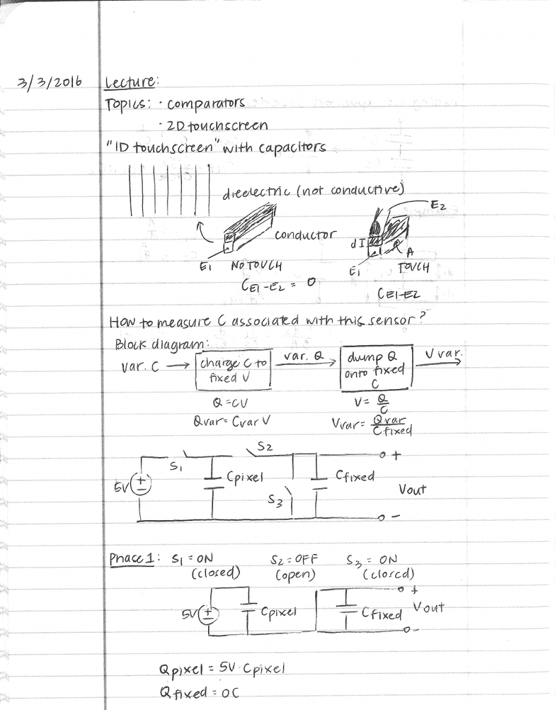 El Eng 020n Lecture 17 Comparators And Op Amps